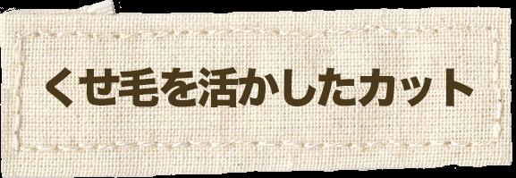 韮崎市のくせを活かしたカット